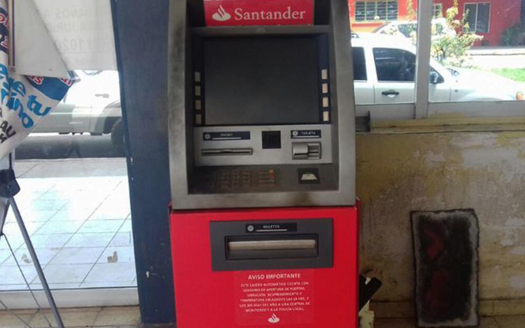 Roban cajero en la unidad administrativa de angostura for Cajeros automaticos banco santander