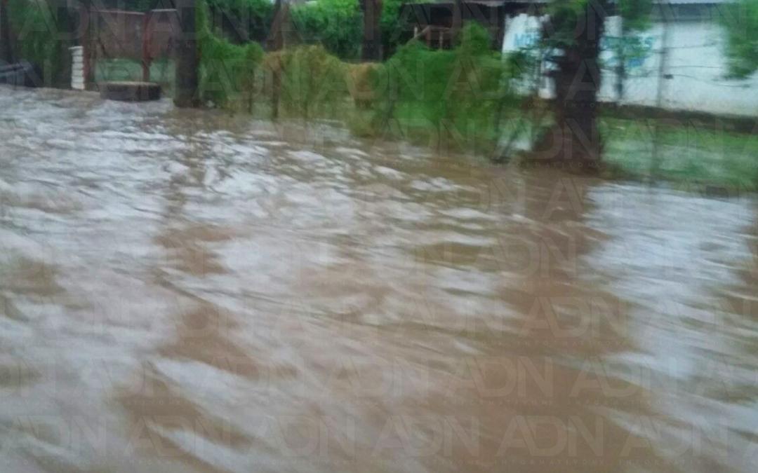 Lluvias dejan afectaciones en Culiacán
