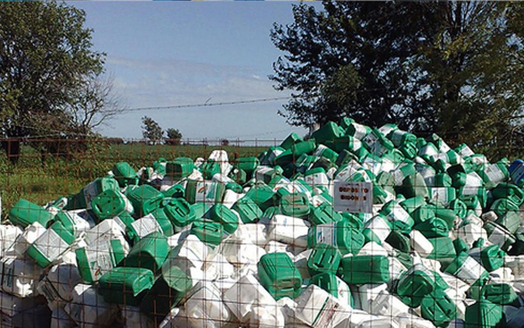 Reforzarán recolección de envases tóxicos