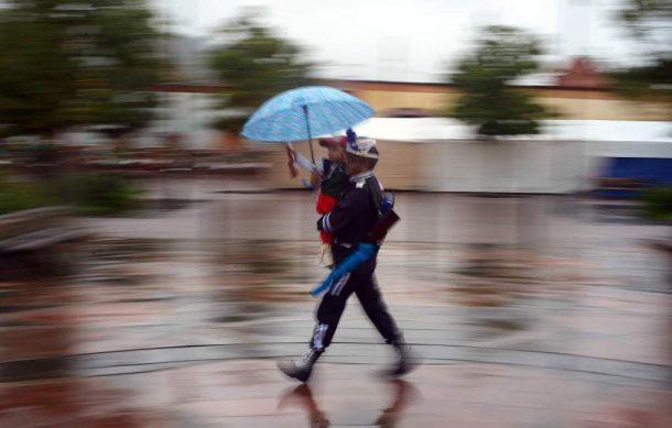 Pronostican lluvias para día miércoles