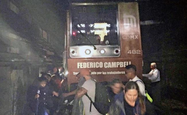 Suspenden servicio del Metro L1