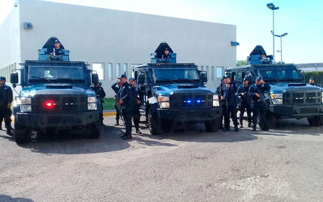 Entregan camiones blindados a SSP