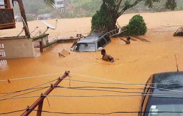 Van 312 muertos por inundaciones en Freetown