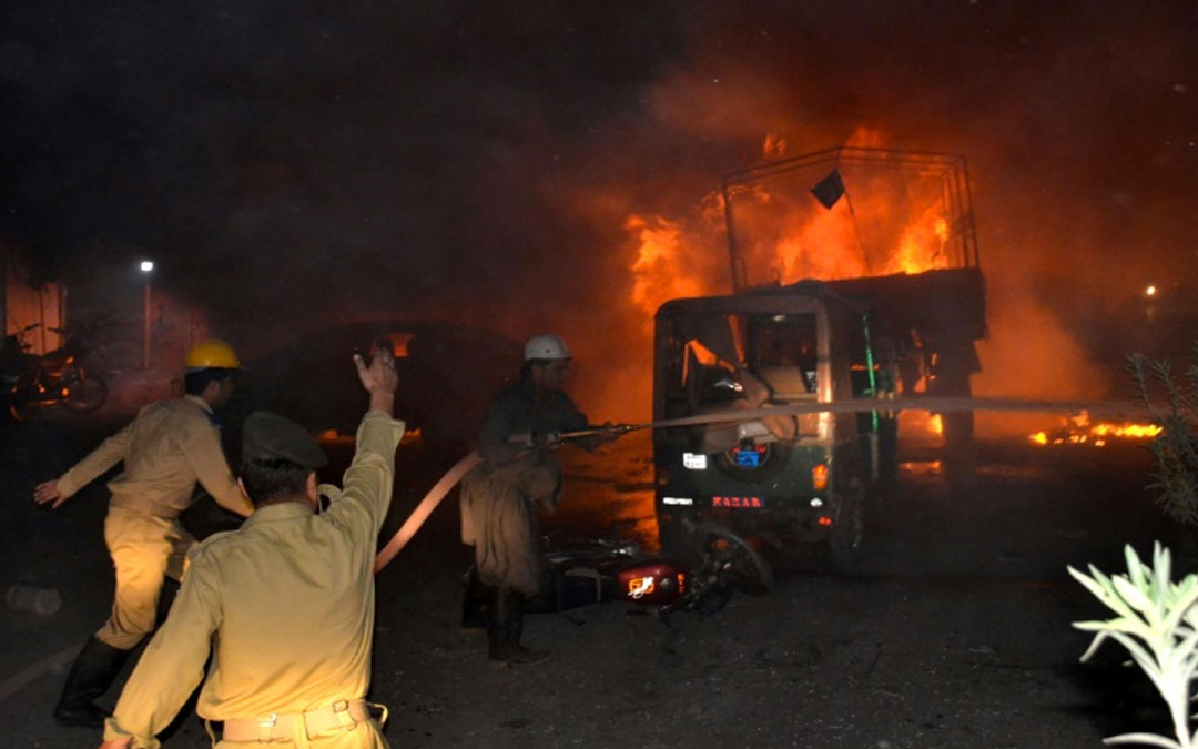 Atentado en Pakistán deja 15 muertos