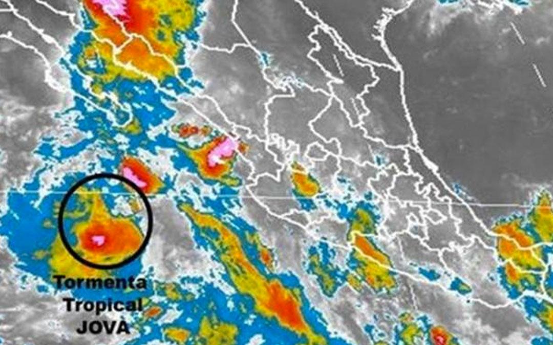 'Franklin' se transforma en tormenta 'Jova'