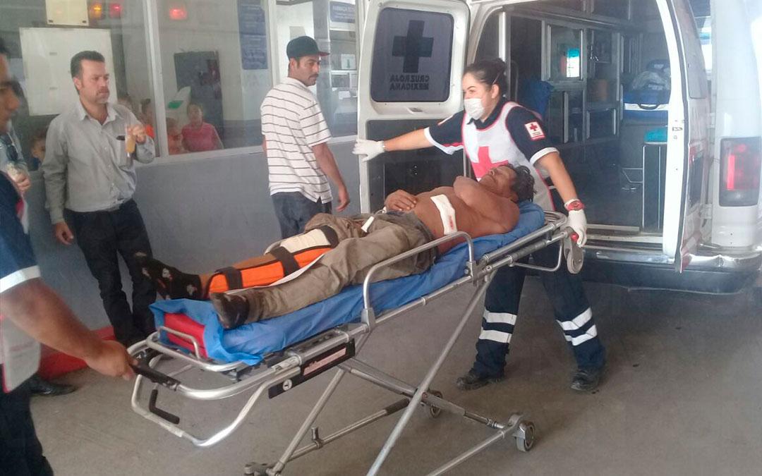 Caimán ataca a pescador en El Castillo