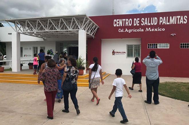 Mejoran Centro de Salud en Palmitas
